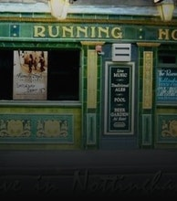 Running Horse artist photo