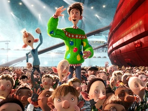Film promo picture: Arthur Christmas