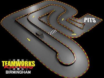 Teamworks Karting Birmingham (Go Karting) venue photo