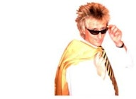 Garry Pease As Rod Stewart artist photo