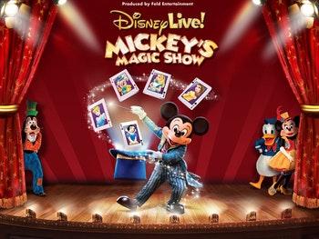 Disney Live! Mickey's Magic Show Tour Dates