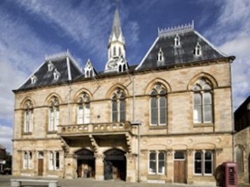 Bishop Auckland Town Hall picture