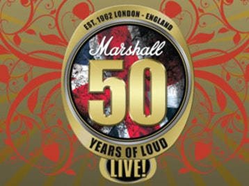 Marshall 50 Years of Loud Live: Doug Aldrich, Billy Duffy, Paul Gilbert, Yngwie Malmsteen, Nicko McBrain, Joe Satriani, Corey Taylor, Brian Tichy, Zakk Wylde, Al Murray picture