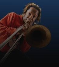 Dennis Rollins Velocity Trio artist photo