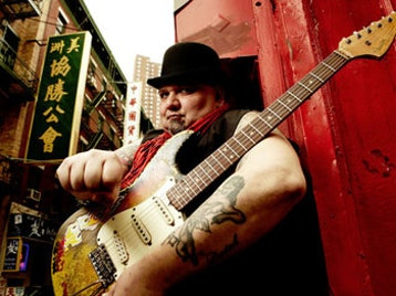Popa Chubby + Three Card Trick UK picture