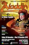 Flyer thumbnail for Aladdin: Frank Vickery, Richard Corgan, Ioan Hefin, Tom Richards