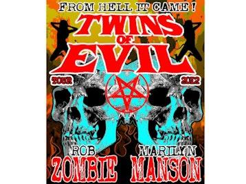 Twins Of Evil Tour: Marilyn Manson + Rob Zombie + J Devil picture