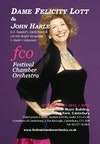 Flyer thumbnail for 'The English Soul': Dame Felicity Lott, John Harle, Canterbury Festival Chamber Orchestra, Festival Chamber Orchestra, Canterbury