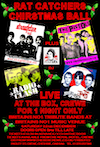 Flyer thumbnail for Rat Catchers Christmas Ball: The Pistols + Straighten Out + Radio Clash + Jam Pact