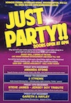 Flyer thumbnail for Just Party!: Amanda Stone
