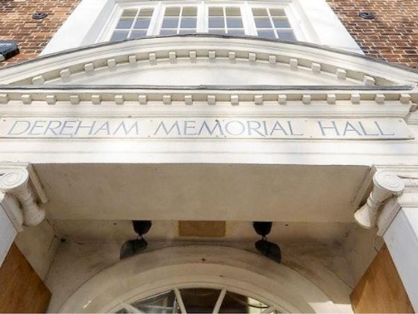 Dereham Memorial Hall Events