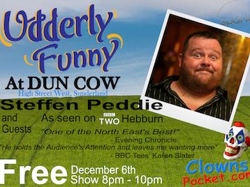 Udderly Funny: Steffan Peddie picture