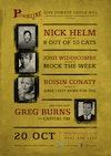 Flyer thumbnail for Punchline Presents...: Nick Helm, Josh Widdicombe, Roisin Conaty, Greg Burns