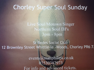 Chorley Super Soul Sunday picture
