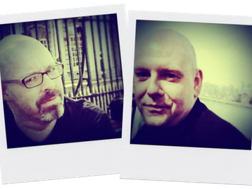Phil Doleman & Ian Emmerson artist photo