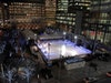 Canary Wharf Ice Rink at Canada Square Park photo