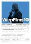 Flyer thumbnail for Warpfilms10 Dead Man's Shoes Live Re-score: Andrew Weatherall + Tom Ravenscroft + Pablo Clements