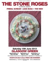 Flyer thumbnail for The Stone Roses + Primal Scream + Jake Bugg + The View