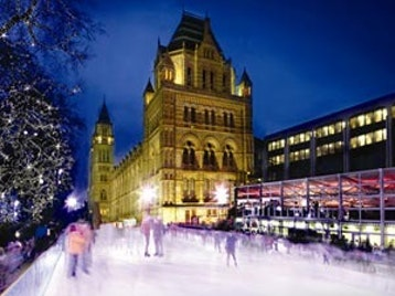 Natural History Museum Ice Rink & Christmas Fair picture