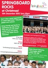Flyer thumbnail for Springboard Rocks For Christmas: Rock Choir