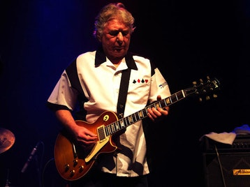 Mick Ralphs Blues Band + Mick Ralphs picture