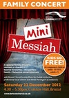 Flyer thumbnail for Mini Messiah Family Concert: Bristol Choral Society, Adrian Partington, Music For Awhile Orchestra