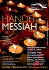 Flyer thumbnail for Handel's Messiah: Bristol Choral Society, Music For Awhile Orchestra, Mary Nelson, Adrian Partington, James Neville, Daniel Auchincloss, Joshua Copeland