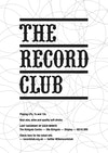 Flyer thumbnail for The Record Club