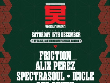 We Fear Silence Present Shogun Audio: DJ Friction + Spectrasoul + Alix Perez + Icicle + SP:MC + DJ Reference + MJ Cole + Rockwell + Dub Phizix + Mantmast + LX One + AD + El Matador + One87 + The Prototypes picture