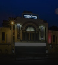 O2 Academy Glasgow artist photo
