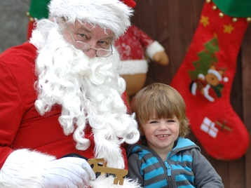 Santa's Grotto: Father Christmas picture