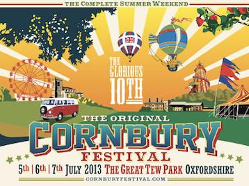 Cornbury Festival 2013 picture