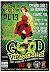 Flyer thumbnail for Good Vibrations: Carmen Ghia & The Hotrods + Roaming Son