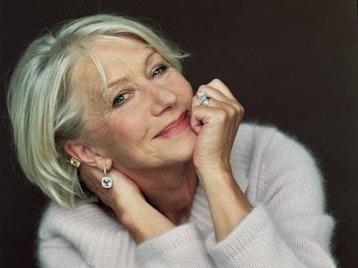 Helen Mirren artist photo
