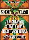 Flyer thumbnail for Aba Santi-i X Iration Steppas X Channel One: Iration Steppas Sound System + Aba Shanti + Channel One Sound System