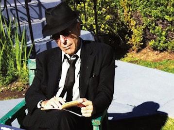 Leonard Cohen artist photo