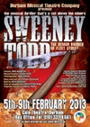 Flyer thumbnail for Sweeney Todd The Musical Thriller: Durham Musical Theatre Company