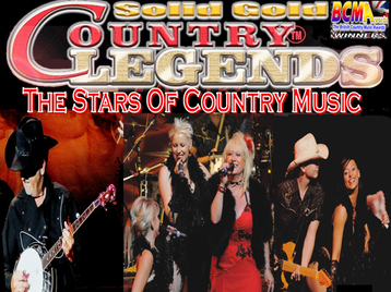 Solid Gold Country Legends: Jeanne Jordan + BJ Thomas + Luke Thomas + Outlaw Country Band picture
