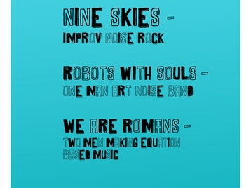 The Nine Skies + Robots With Souls + We Are Romans picture
