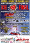 Flyer thumbnail for XXI Final: My Riot + Ocasun + Robert Leszczynski + Marzena Rychlik + Metasoma + Volumeyes + Human Control + Sabio Janiak + Farbryka Zespolow + Magic Eight Ball