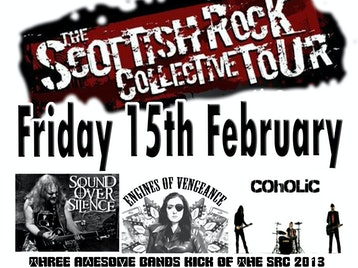 Scottish Rock Collective Tour: Sound Over Silence + Engines of Vengeance + Coholic picture