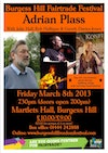 Flyer thumbnail for Adrian Plass + Rob Halligan + Gareth Davies-Jones + Julie Hall