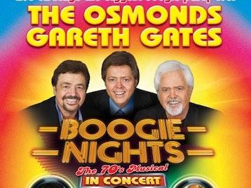 Boogie Nights: Boogie Nights (Touring), The Osmonds, Gareth Gates, Louisa Lytton, Andy Abraham, Chico, Shane Richie Junior picture