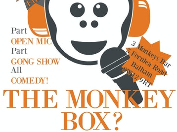 The Monkey Box: John Hastings, Dave Chawner, Julie 'Psycho' Jones picture