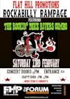 Flyer thumbnail for Rockabilly Rampage Night: The Rockin' Deke Rivers Combo