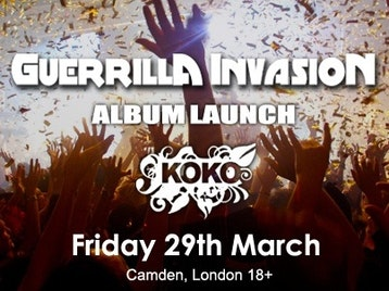 Club NME: Guerrilla Invasion - Official Album Launch Party: Missing Andy + The Harlots picture