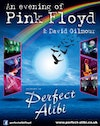 Flyer thumbnail for Pink Floyd & David Gilmour Tribute: Perfect Alibi