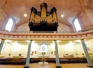 St John-at-Hackney Church artist photo