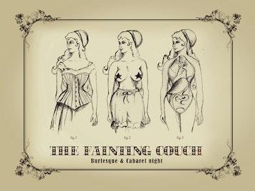 The Fainting Couch Cabaret And Burlesque Night: Abigail Collins, Annette Bette Kellow, Elsie Diamond picture