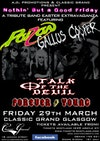 Flyer thumbnail for Rock Tribute Festival - Nothin But A Good Friday: Gallus Cooper + Poizon + Forever Young + Talk Of The Devil